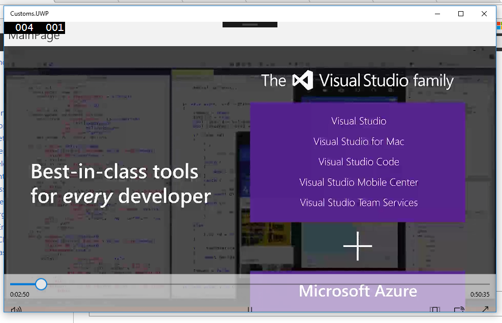 Playing Audio and Video for Xamarin Forms – Into the Mind of