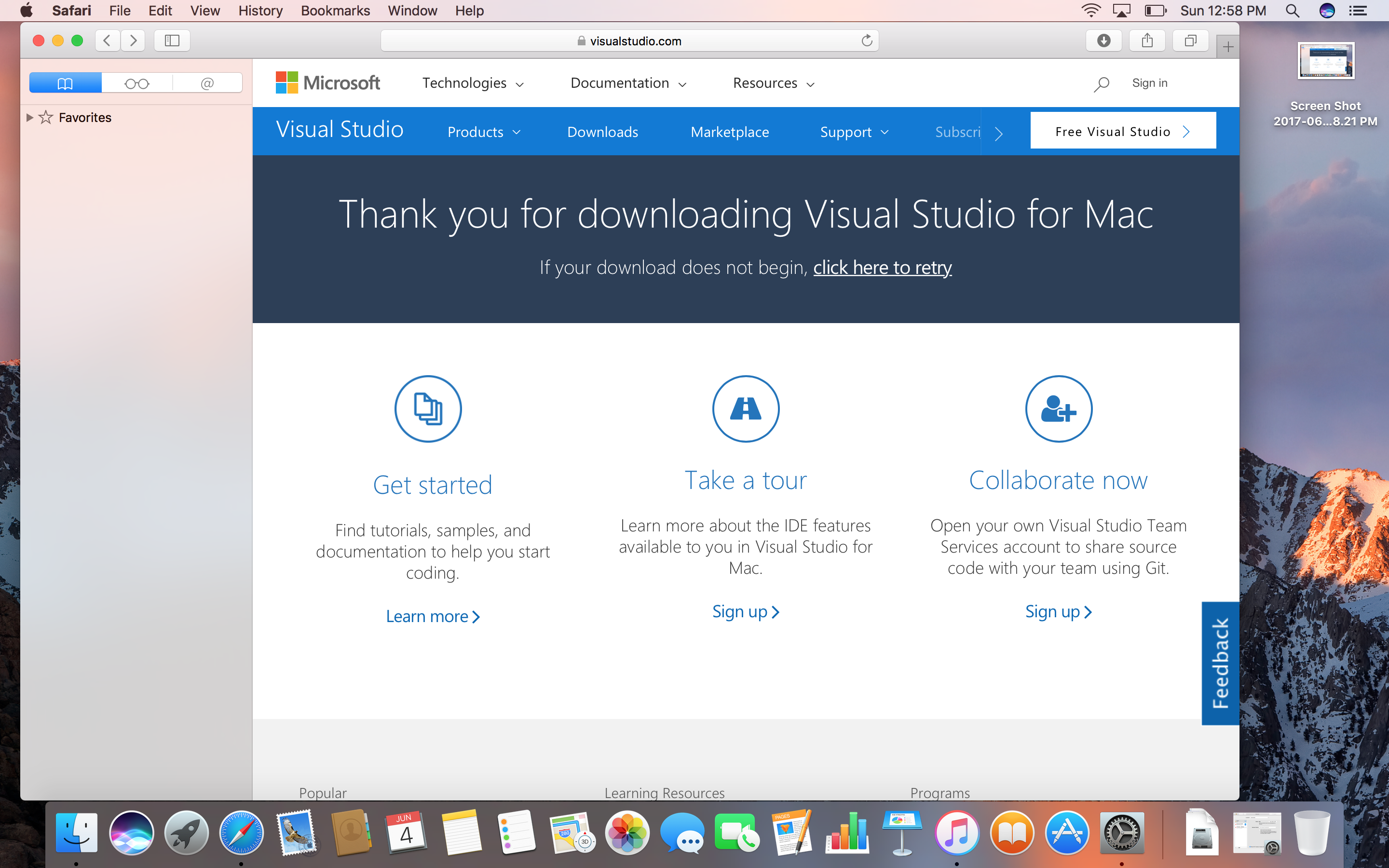 Installing Visual Studio for Mac – Into the Mind of Ai – mobile