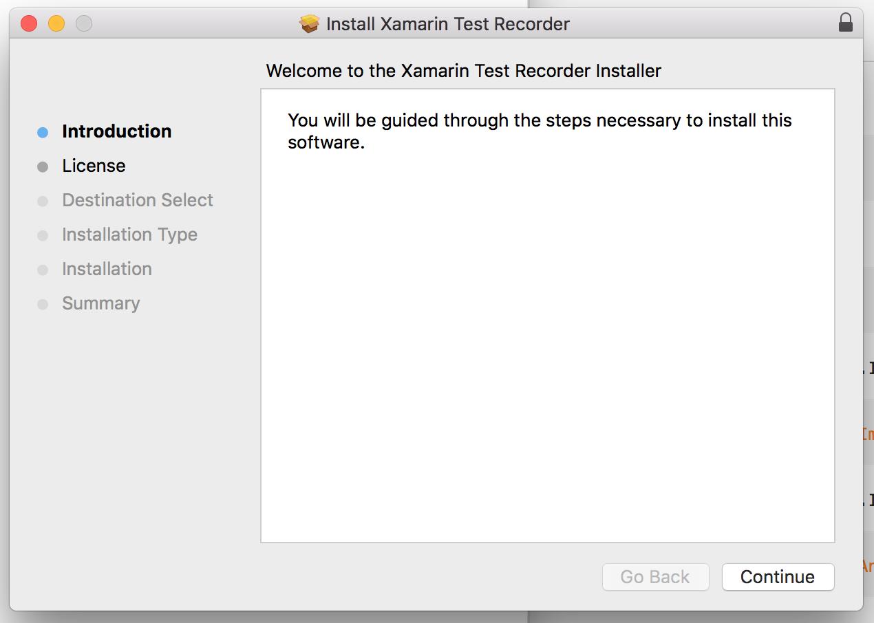 Integrating Xamarin Test Recorder for Mac and Xamarin Test Cloud
